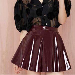 Vinyl Frontier Skater Skirt