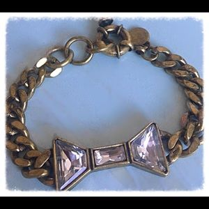 Marc by Marc Jacobs Crystal Bow Bracelet