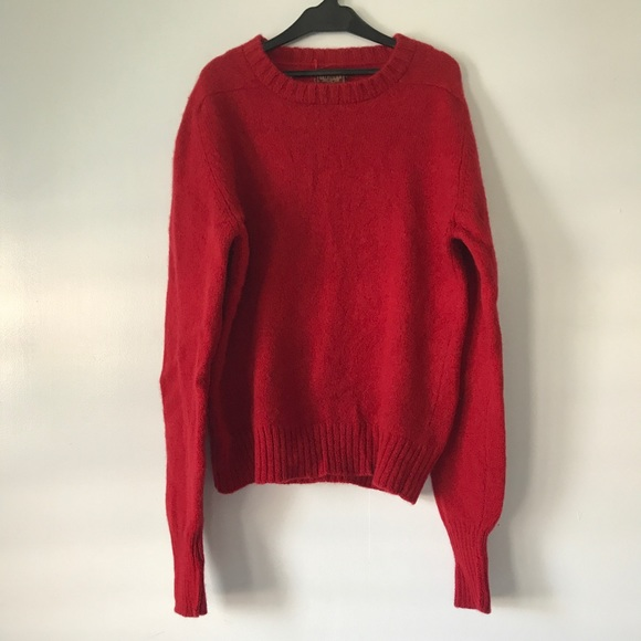 Nordstrom - NORDSTROM fluffy red sweater from Annie 🌺's closet on ...
