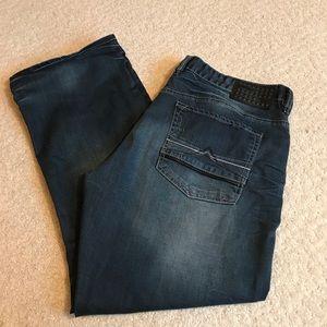 Men's Buffalo jeans.