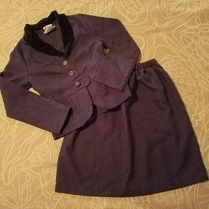 Girl's business suit or costume