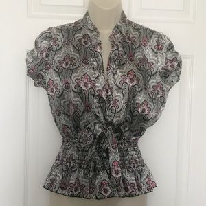 Mandee Blouse Size Small
