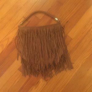 H&M fringe shoulder bag