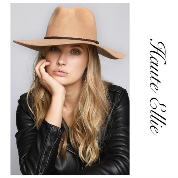 1e53f84ed5bf8 Haute Ellie Accessories | Wide Brim Felt Panama Hat Camel | Poshmark