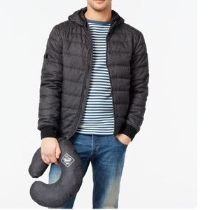 Point Zero packable bomber jacket