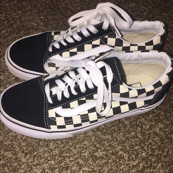 70e926eba56 Vans Primary Check old Skool. M 59db83503c6f9f56b10394c4. Other Shoes ...