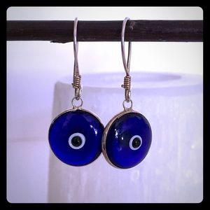 🌟Vintage Turkish Evil Eye Earrings
