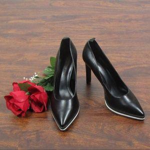 fbab16927f59 Charles   Keith Shoes - Charles   Keith Black   White Platform Heels ...