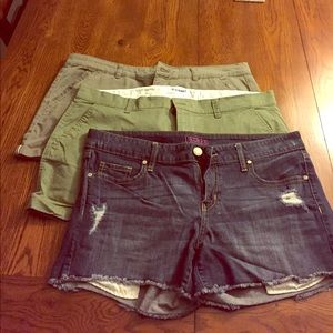 Bundle of 3 shorts! Decree, Old Navy & Maurices