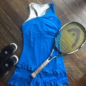 Nike Tennis Dress With Built in bra top