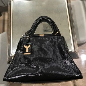 Patent Leather YSL Handbag - excellent condition