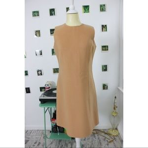 Polished Wool Dress