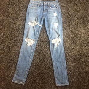 Carmar ripped skinny jeans