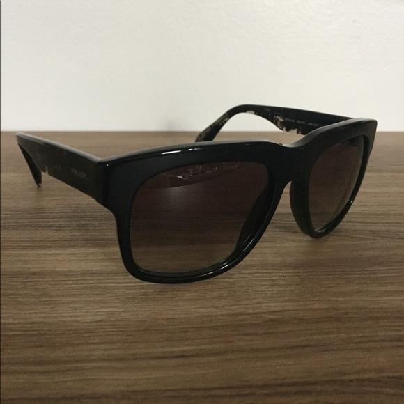 e55172b63e7e2 ... new arrivals prada sunglasses spr 14q black 6d21b b671f