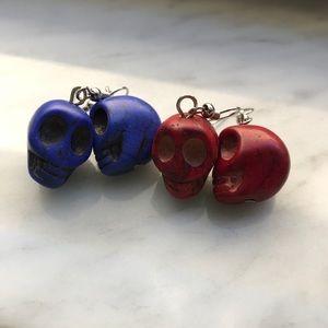 Jewelry - Halloween Skull Earrings