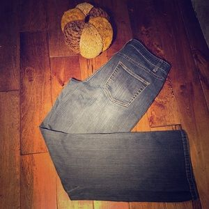 Coldwater Creek, straight leg, mid waisted,  jeans
