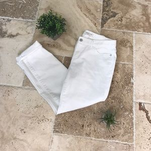 Coldwater Creek White Natural Fit Jeans Size 6p