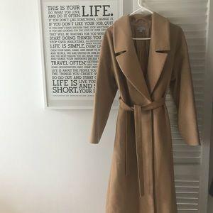 4bcf4e45251f COS Jackets & Coats | Long Belted Wool Coat New Size 366 | Poshmark