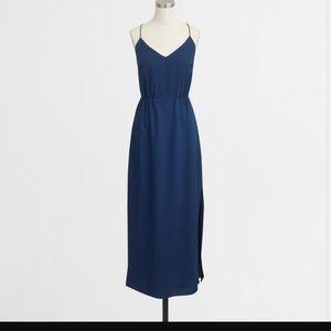 J.Crew Navy Size 2 Maxi Dress