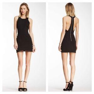 Anthropologie Line & Dot Halter Back Cutout Dress