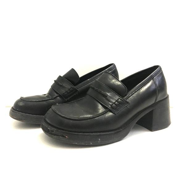 9s Vtg Steve Madden Schoolgirl Platform