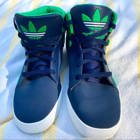 Adidas zapatos High Top tenis poshmark Marina verde 12 tamaño 12 verde 6cdd45