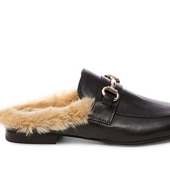Steve Madden Fur Lined Mule Loafer