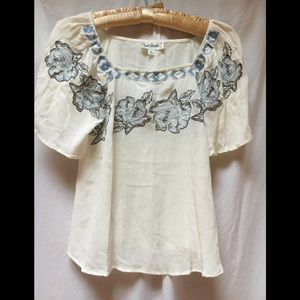 NWT Cloud Chaser Gauze Blouse