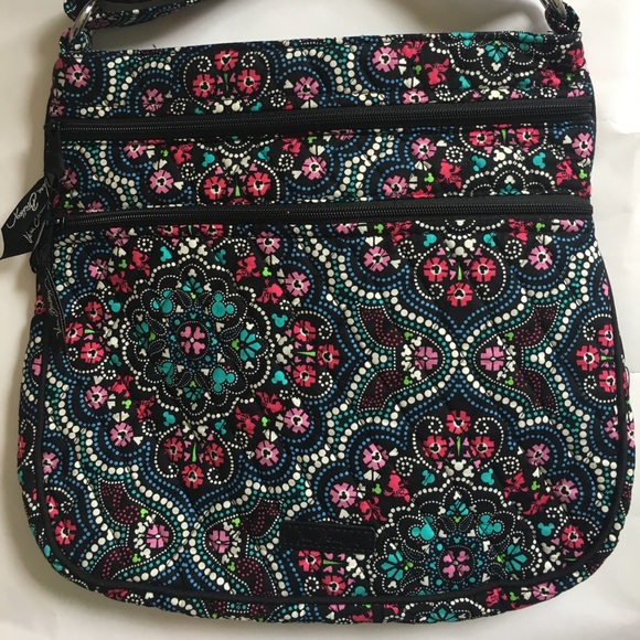 a9f886aa94 Triple Zip Hipster Disney Mickey Medallions 🦋🌺.  M 59dba81056b2d6a8710420b7. Other Bags you may like. Vera Bradley Leather  Crossbody Purse