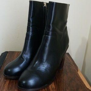 H&M High Heeled Mid-Calf Boots