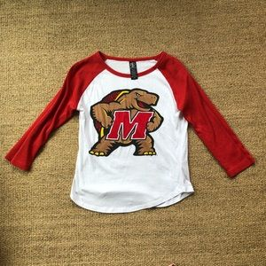 University of Maryland Terrapins Baseball Tee S