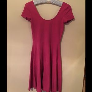Benetton fuchsia dress size XS