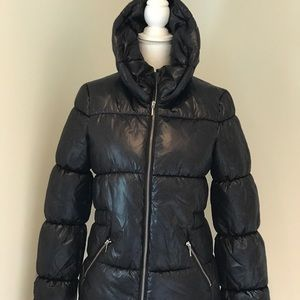 H&M Shiny Puffy Coat