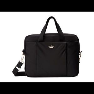 Black Kate Spade Laptop Bag, Worn Just A Few Times