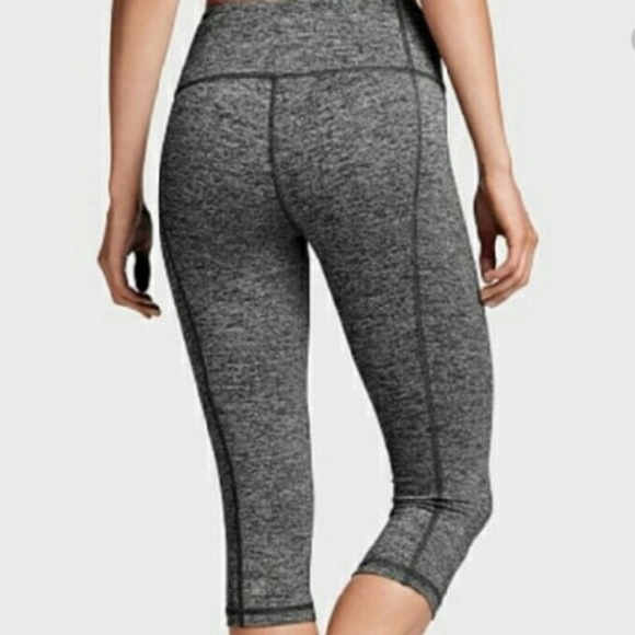 6f94d2f0c47d76 VSX Sport Knockout Capri in Gray Marl. M_59dbb0af8f0fc458130452e9. Other  Pants you may like. Victoria's Secret ...