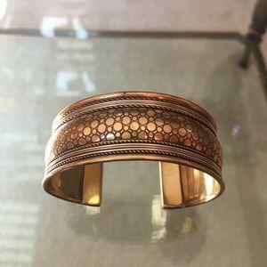 Jewelry - Copper tone adjustable bangle bracelet