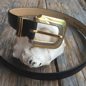 Vintage Etienne Aigner Leather Belt