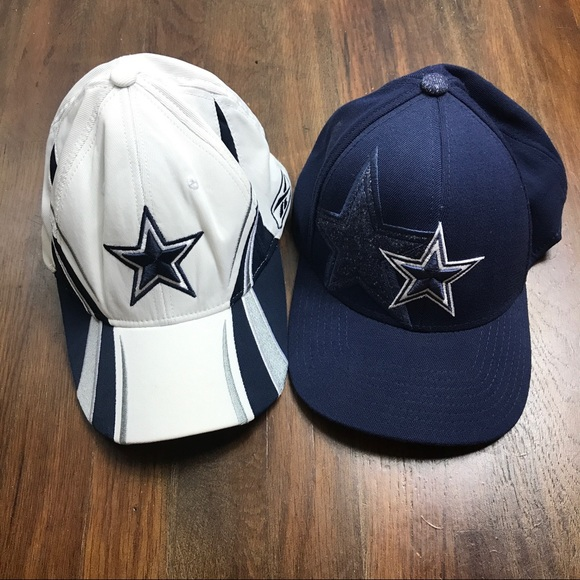 a05e09be Dallas Cowboys Lot of 2 Reebok Fitted Baseball Hat