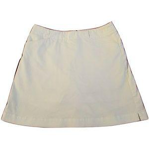 Nike Golf White Skirt Skirt A line Sz 4