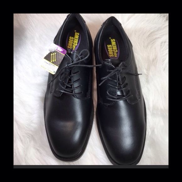 ca136ad94f4 Shoes For Crews Shoes | Hp Black Sfc Padded Work Or Dress | Poshmark