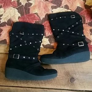 Girls Justice Boots Size 6
