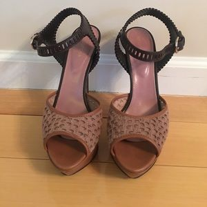 Sergio Rossi platform shoe