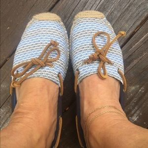 New Sperry topsider espadrilles