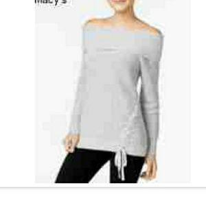 Heather Grey  Jessica Simpson brand sweater