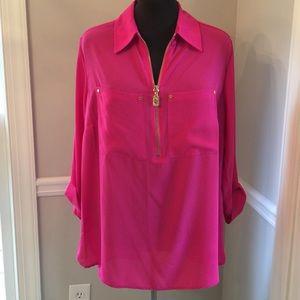 (268). NWT. Michael Kors tunic top. Size 1X