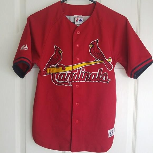9ba82f0f Vintage St. Louis Cardinals Scott Rolen Jersey