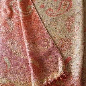 Accessories - Pashmina gold thread scarf/wrap