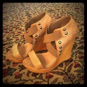 True Religion Wedge Heels