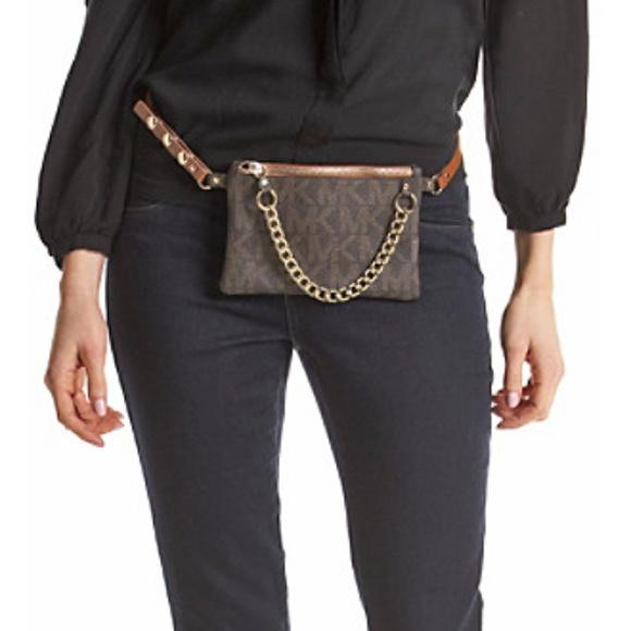 ea48d00632fd Michael Kors Bags   Mk Fanny Pack Bag Belt Waist Purse 554131   Poshmark