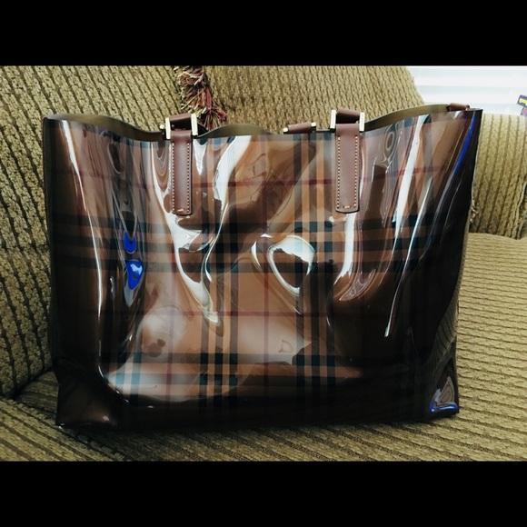 Burberry Vinyl Bag